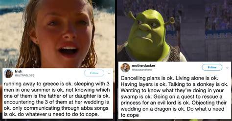 canceling plans        cope  memes