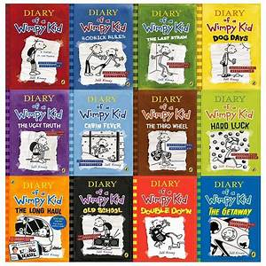 Diary Of A Wimpy Kid Collection 12 Books Set The Getaway
