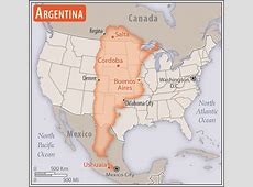 South America Argentina — The World Factbook Central