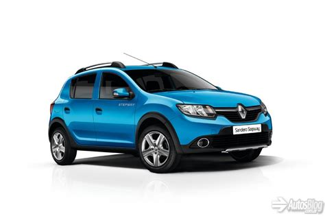 renault sandero stepway 2014 renault sandero stepway pictures information and
