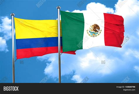 Colombia Flag Mexico Image & Photo (Free Trial) | Bigstock