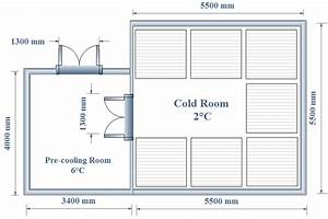 Cold Room Dimensions The Cooling Load Of The System Is The