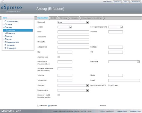 The Form Of Espresso by Adnovum Pos Software For Mercedes