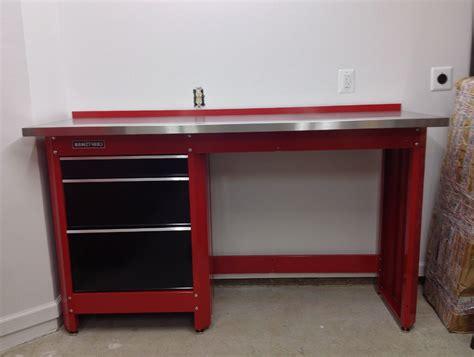 craftsman workbench red home design ideas