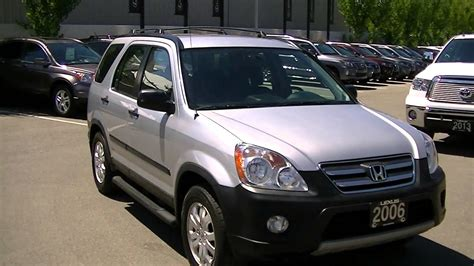 I bought it from my mom, who had gotten it almost new in 2006. 2006 Honda CRV EX Video 001 - YouTube