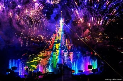 Disney Light Show by Disneyland Il Report Della Presentazione Di Quot Dreams