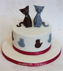 Cat cake | A cake for our older daughter's 9th birthday ...