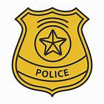 Badge Police Icon Detective Officer Cop Policeman