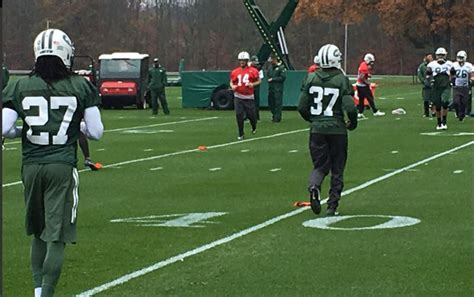 Ryan Fitzpatrick limited at Jets practice Wednesday ...