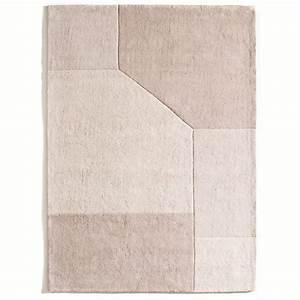 tapis coton tufte graphique 2 tailles dario tapis With tapis coton tufté