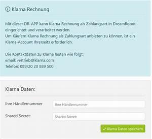 Rechnung Von Klarna : klarna rechnungskauf einrichten dreamrobot wiki ~ Haus.voiturepedia.club Haus und Dekorationen
