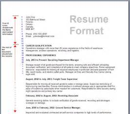 resume format exles documentation 16 free resume templates excel pdf formats
