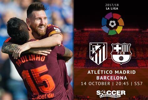 Spanish La Liga Starting XI: Atletico Madrid v FC ...