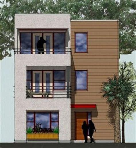 house plans for narrow lots planos de casas modernas de 3 pisos