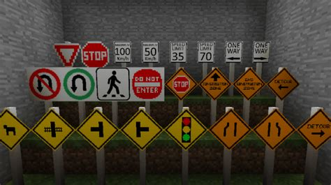 Road Mod For Minecraft 1.8.9/1.8