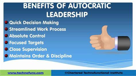 management styles autocratic  democratic  laissez