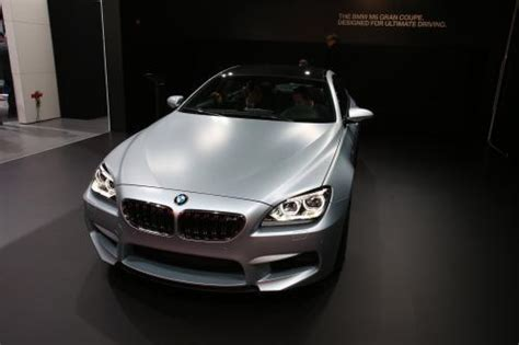 Mobil Bmw M6 Gran Coupe by Bmw M6 Gran Coupe Detroit 2013 Hd Pictures