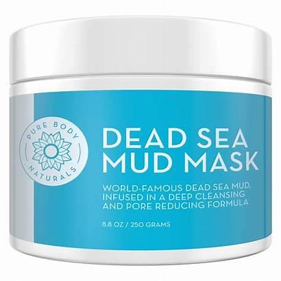 Dead Mud Mask Sea Premium Natural Transparent