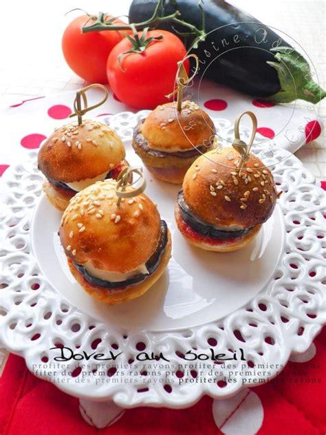 cuisine tomate mini burger tomate aubergine mozzarella cuisine addict