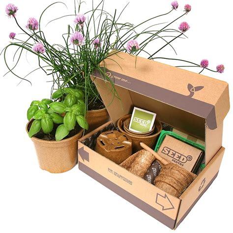 garden starter kit herb seeds starter pack