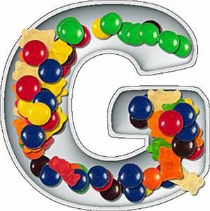 presentation alphabets candy dish letter g With alphabet letter candy dishes