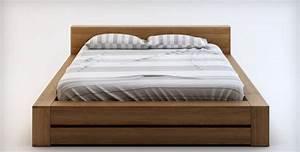 Lit 2 Places Moderne : chevet en bois massif de qualit fabriqu en europe ~ Teatrodelosmanantiales.com Idées de Décoration