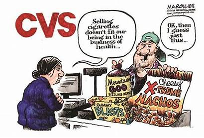 Cvs Cigarettes Smoking Cartoon Junk Selling Tobacco