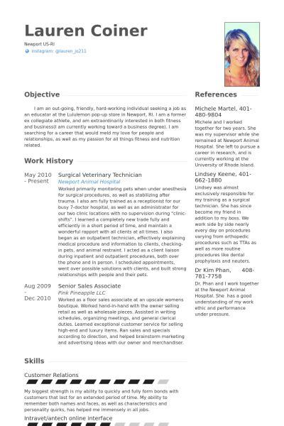 Veterinary Resume Samples  Visualcv Resume Samples Database. Industrial Resume. Resume Format For It Professional Experience. English Resume Sample. Resume Cover Letter Medical Assistant. Restaurant Manager Job Description For Resume. Admin Assistant Resume Sample. How To Start A Resume Objective. Resume Undergraduate