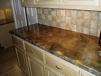 How To Paint Granite Countertops by Faux Granite Countertop Paint Kitchen
