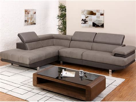 canapé d angle design tissu canapé d 39 angle en tissu 2 coloris bicolores meloul