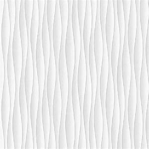 Fine Decor Ceramica Wave Wallpaper White Silver FD40133