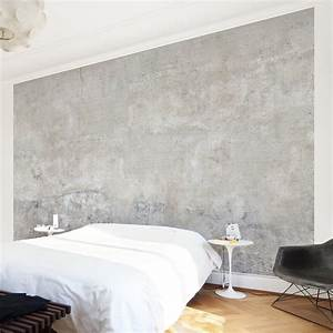 Betontapete Aus Echtem Beton : bilderwelten beton tapete selbstklebende fototapete shabby betonoptik shabby betonoptik ~ Indierocktalk.com Haus und Dekorationen