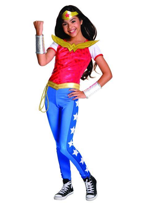 woman girls costume superhero costumes