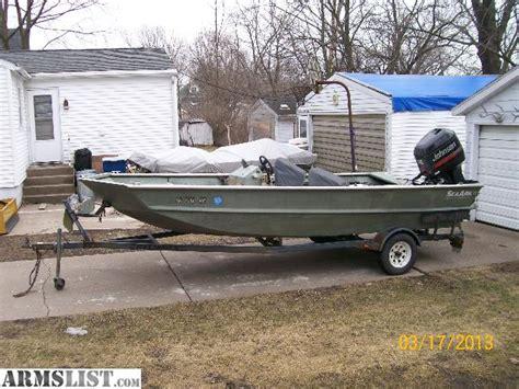 Seaark Work Boats by Armslist For Sale Seaark 1872 Boat Motor Trailer