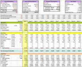 Stock Report Template Excel Financial Analysis Submited Images