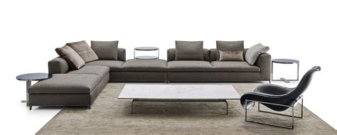 b b italia canap canapé d 39 angle composable en tissu michel by b b