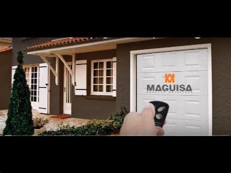 porte de garage maguisa vid 233 o de montage et programmation porte de garage turia avec moteur et