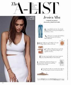 JESSICA ALBA in Harper's Bazaar Magaziine, Mexico March ...