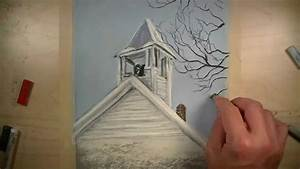 painting quickly with pastels