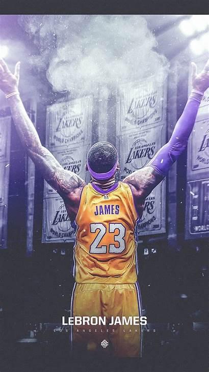 Lebron James Lakers Iphone Wallpapers Nba Basketball