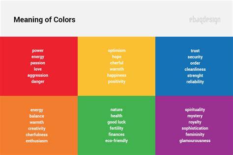 logo color   psychology  color