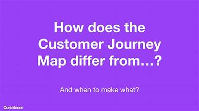 Journey Customer Experience Between Difference Service Map