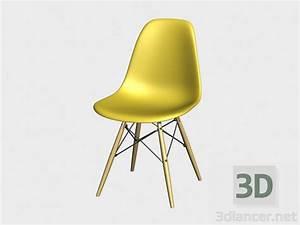 Eames Plastic Side Chair : 3d model chair eames plastic side chair dsw manufacturer vitra id 18064 ~ Frokenaadalensverden.com Haus und Dekorationen