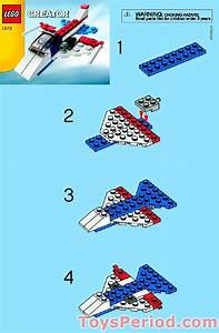 Lego 7873 Airplane Set Parts Inventory And Instructions