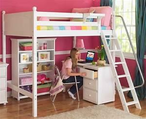 Chambre Avec Bureau : le lit mezzanine avec bureau est l 39 ameublement cr atif pour les chambres d 39 enfant ~ Dode.kayakingforconservation.com Idées de Décoration