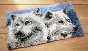 Canevas Pour Tapis : tapis point nou les loups site de canevas kit canevas et des coussins canevas broder ~ Farleysfitness.com Idées de Décoration