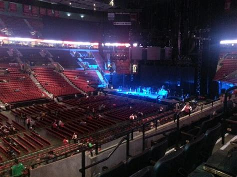 moda center section 218 concert seating rateyourseats
