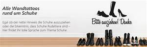 Schuhe Sind Rudeltiere : wandtattoo spr che zum thema schuhe f r euren flur ~ Markanthonyermac.com Haus und Dekorationen