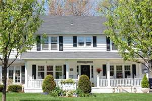 Front Porches On Colonial Homes Colonial Front Porch On Front Porches Porches And Colonial