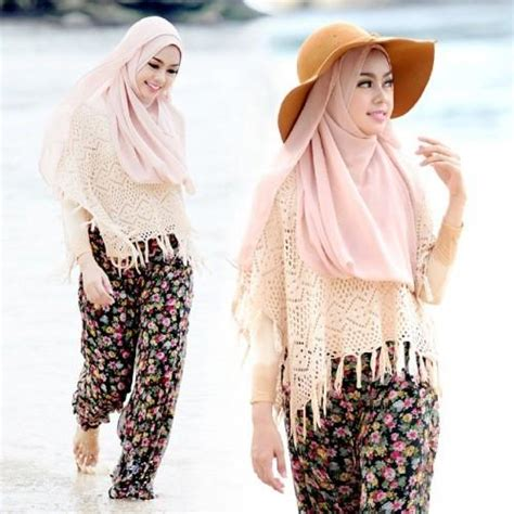 tips menggunakan busana hijab   pantai fashion beautynesia